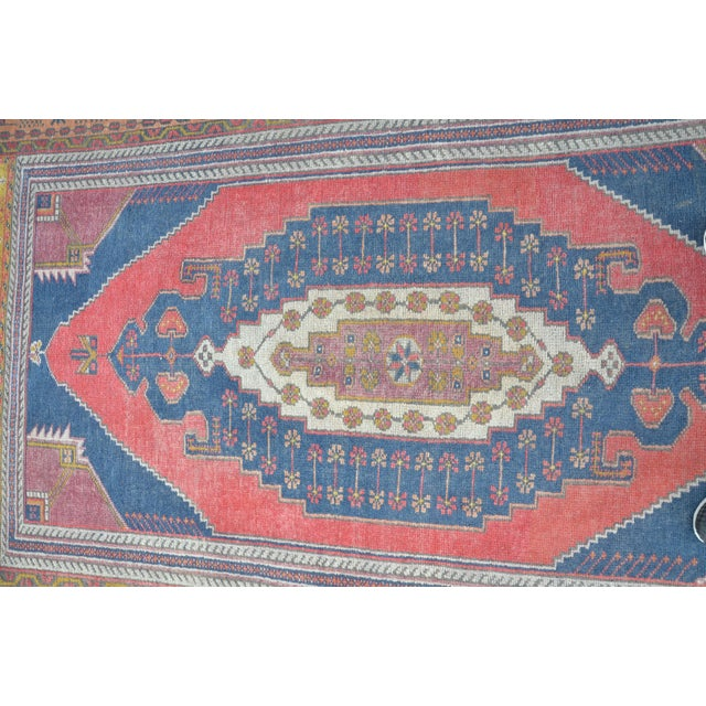 Vintage Turkish Oushak Carpet - 4′5″ × 8′ - Image 5 of 6
