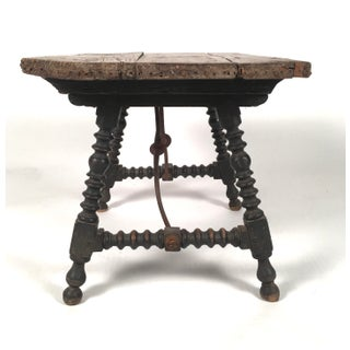 19th Century Spanish Baroque Style Side Table Preview