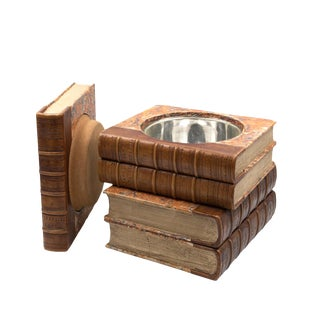 Late Victorian Book Stack Concealed Wine Cooler; English, Circa 1880. For Sale