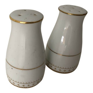 Vintage Noritake Salt & Pepper Shakers Porcelain Japan For Sale