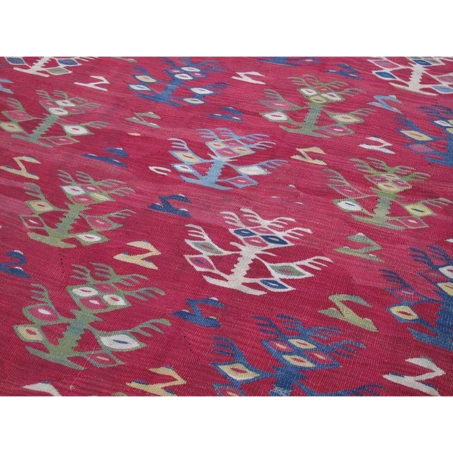 Textile Antique Sharkoy Kilim For Sale - Image 7 of 9