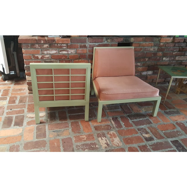 Michael Taylor for Baker Slipper Chairs - A Pair - Image 3 of 6