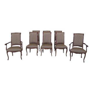 Karges French Louis XV Style Dining Room Chairs - Set of 8 For Sale