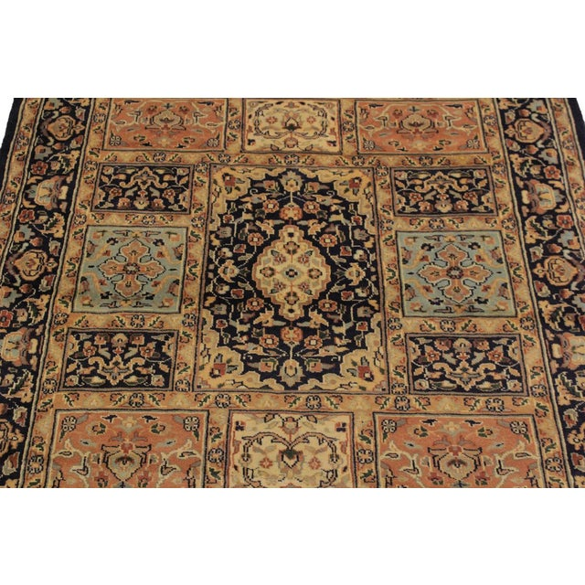 1980s 1980s Vintage Bokhara Wanetta Wool Rug - 4′2″ × 6′10″ For Sale - Image 5 of 8