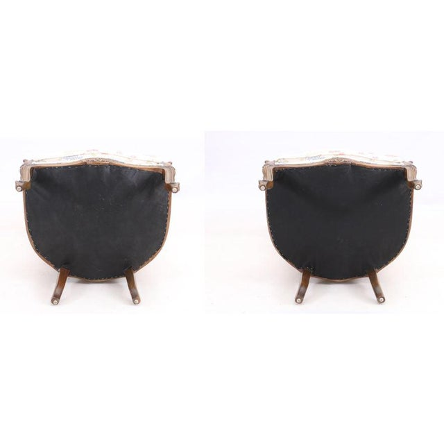 Vintage Mid Century Fully Cane Backed Porter Chairs - A Pair For Sale - Image 12 of 13