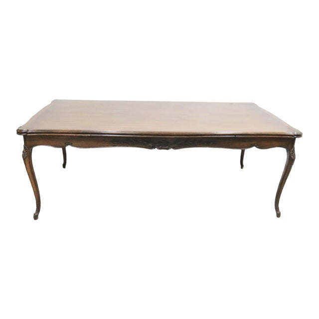 Louis XV Walnut Refractory Dining Table For Sale