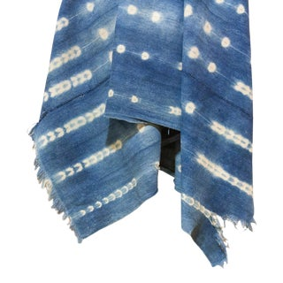 Ali Indigo African Mud Cloth For Sale