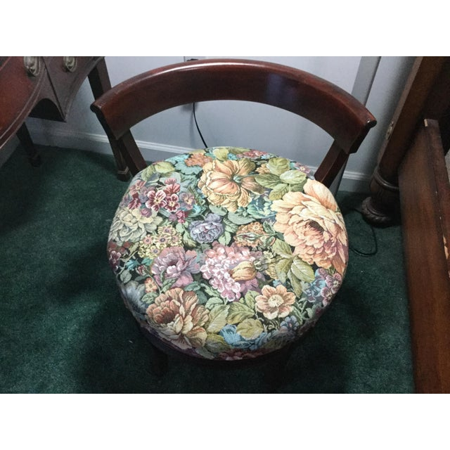 1960s Vintage Dressing Table and Stool For Sale - Image 11 of 12