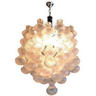 20th Century Murano Mazzega Chandelier For Sale