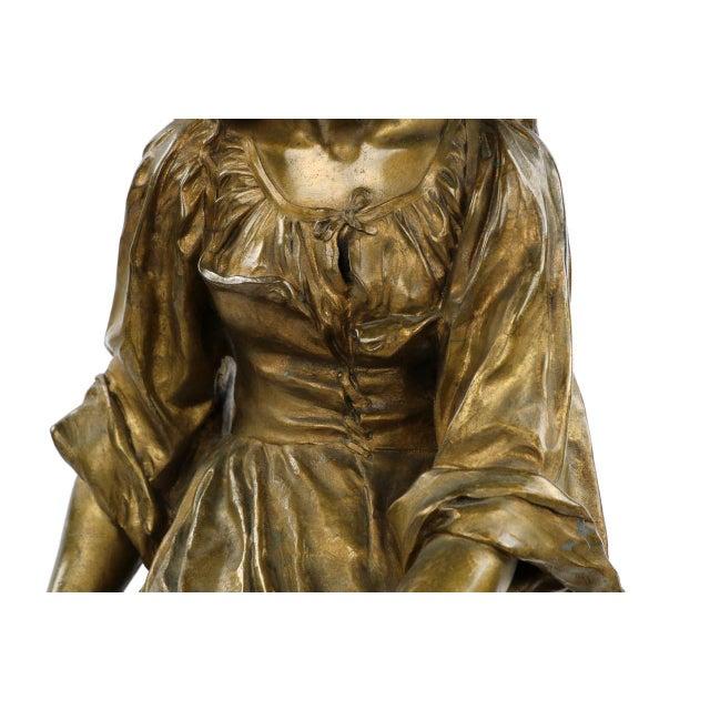 Paul Eugéne Mengin Bronze Sculpture - Image 6 of 10