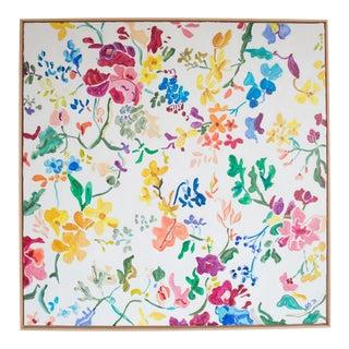 Original Floral Canvas Painting For Sale