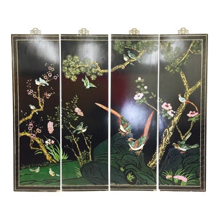 Vintage Asian Wall Hanging