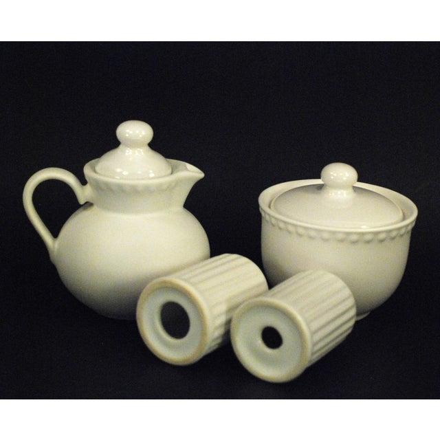 Dansk Rondure Rice White Dinnerware - S/18 For Sale - Image 9 of 9