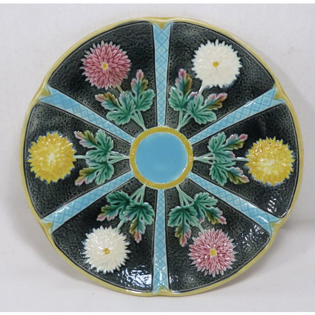 Antique Wedgwood Majolica Serving Dish Circa 1870s For Sale - Image 13 of 13