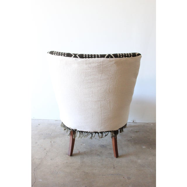 Vintage African Mudcloth Chairs - A Pair - Image 9 of 9