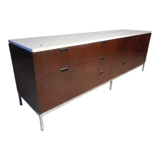 Knoll Marble-Top Credenza For Sale