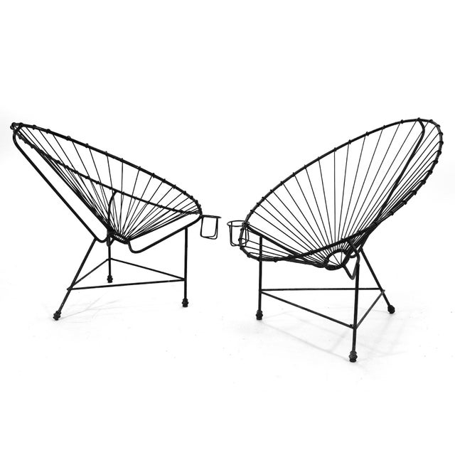 1960s Pair of Acapulco Chairs For Sale - Image 5 of 11