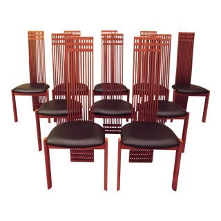 Maurice Villency Dining Chairs - Set of 10