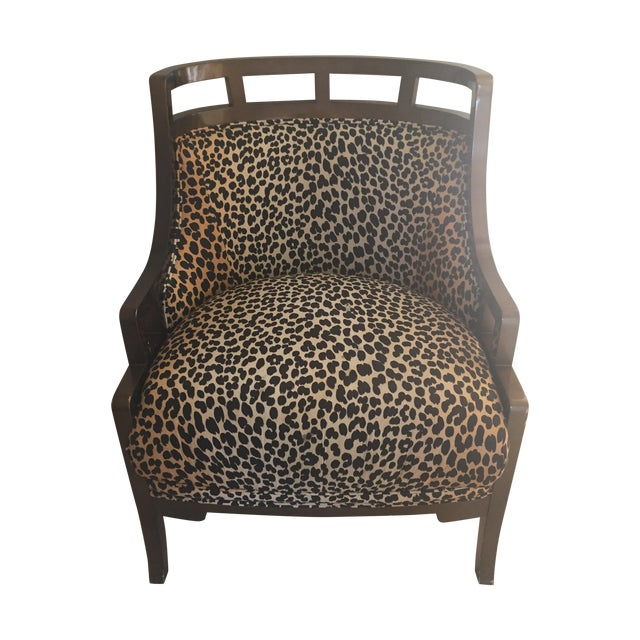 Leopard Print Chair - Image 1 of 7