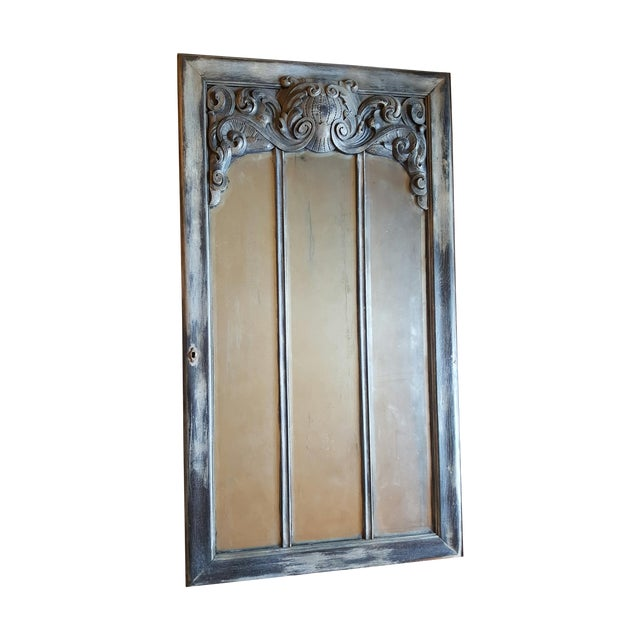Antique Chateau Floor Mirror - Image 1 of 7