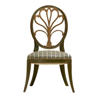 Rose Tarlow Feather Side Chairs For Sale