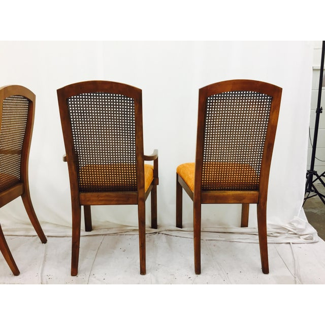 Vintage Dixie Mid-Century Dining Chairs - Set of 6 - Image 10 of 11