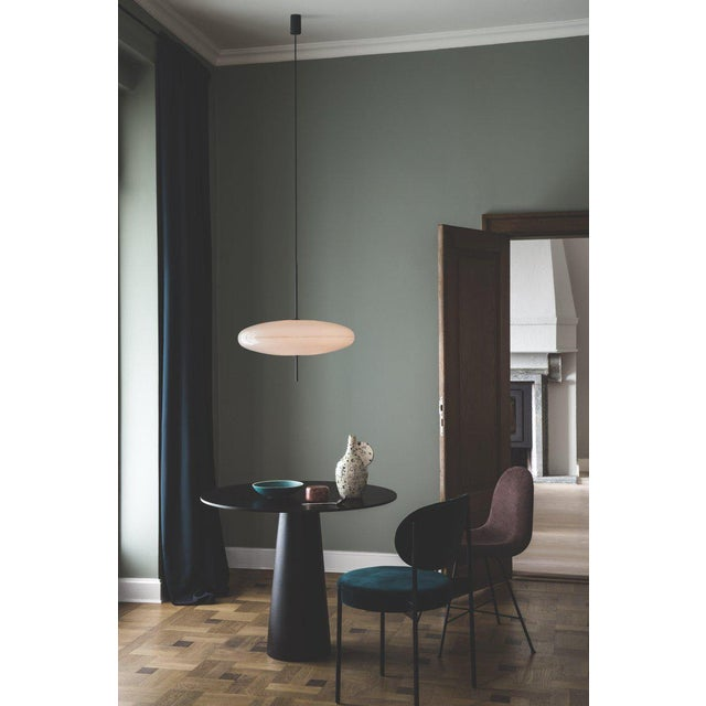 White Gino Sarfatti Model No. 2065 Ceiling Light For Sale - Image 8 of 9