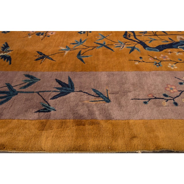 "Apadana Chinese Art Deco Rug - 10' X 13'6"" - Image 4 of 7"