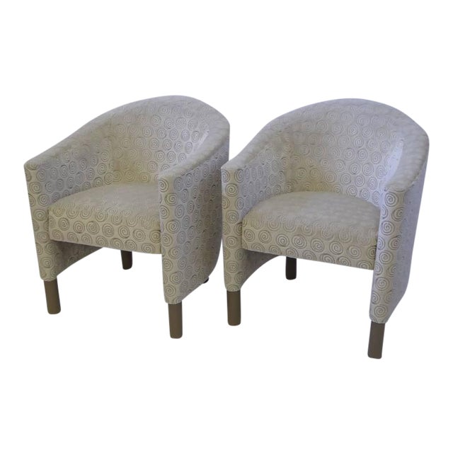 Pair of Club Chairs by Brayton International Collection - Image 1 of 5