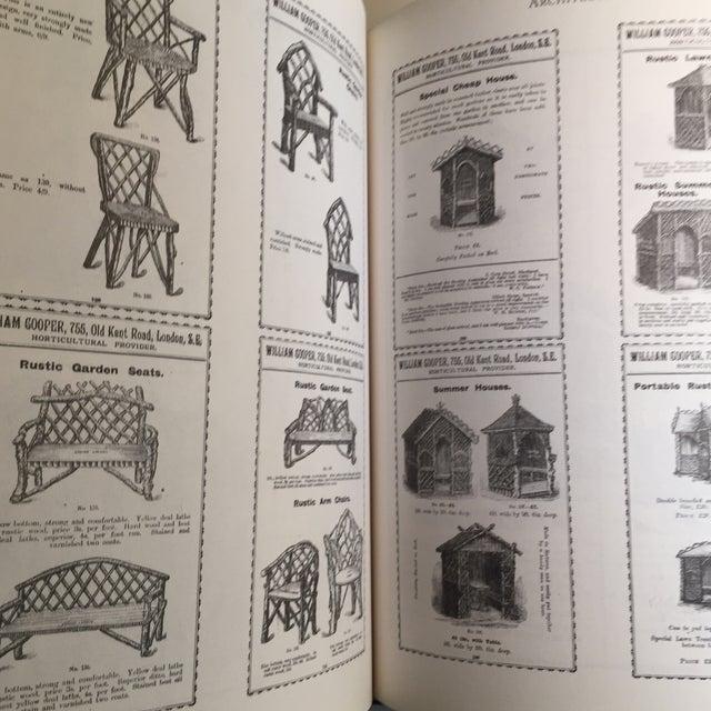 "Cream 1995 ""The Victorian Garden Catalogue"" Book For Sale - Image 8 of 11"