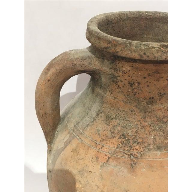 Mediterranean Turkish Ceramic Olive Oil Pot - Image 5 of 9