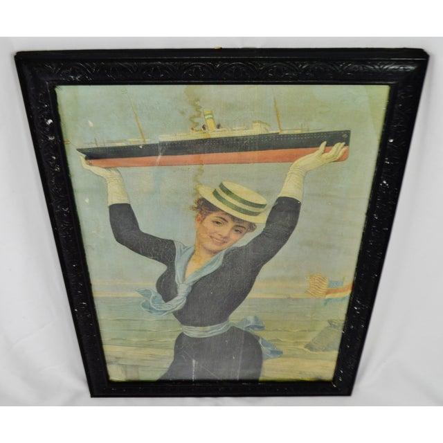 Traditional Victorian Jan Van Beers Framed Print For Sale - Image 3 of 11
