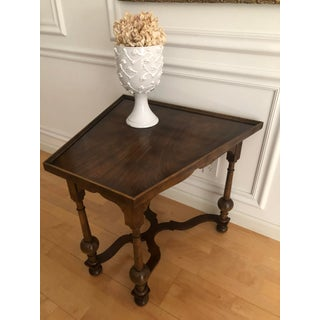 Vintage Baker Furniture English Accent Tea Table Traditional William and Mary Style Preview