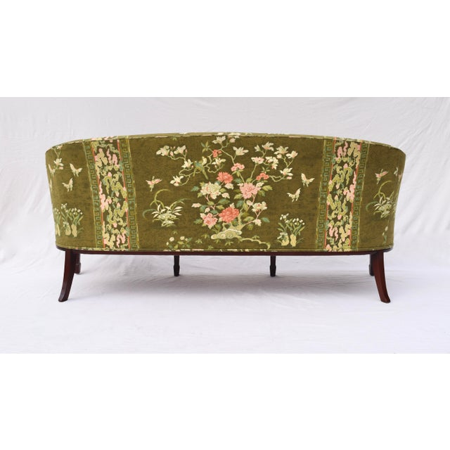 Hickory Chair Federal Hepplewhite Style Sofa For Sale - Image 10 of 13