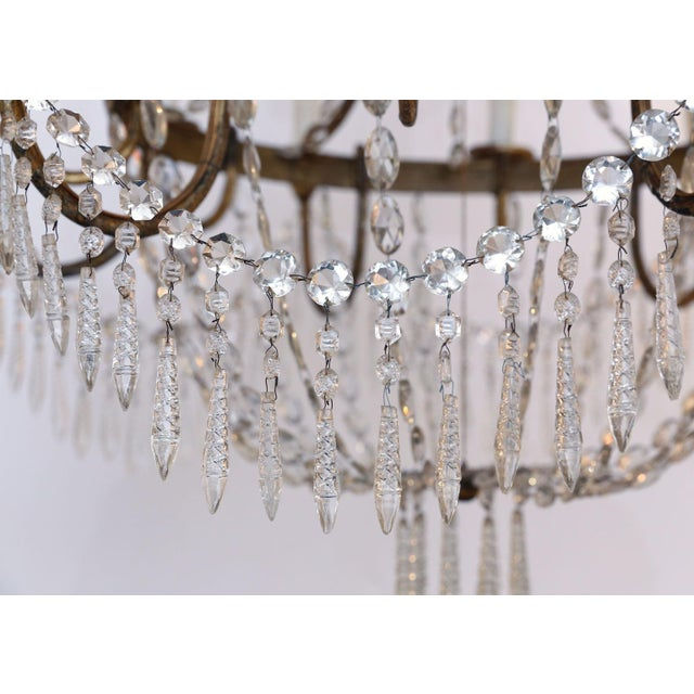 Large-Scale Neoclassical Chandelier For Sale - Image 10 of 13
