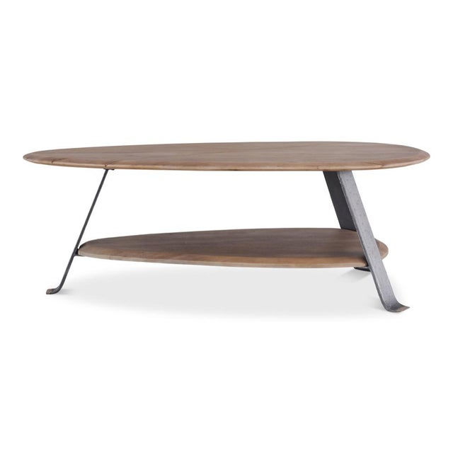 Contemporary Pebble Coffee Table For Sale - Image 3 of 8