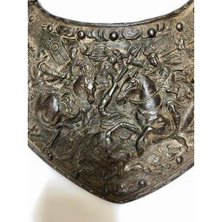 European Renaissance Style Armour Gorget, Viollet Le Duc Period Preview