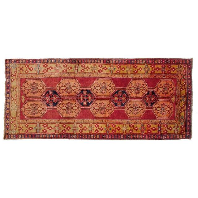 """Vintage Persian Nahavand Rug - 4'7"""" X 10'7"""" - Image 1 of 3"""