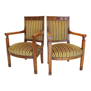 French Directoire Armchairs - A Pair
