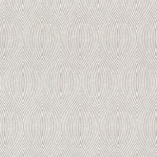 Schumacher Bark Wallpaper in Fog For Sale