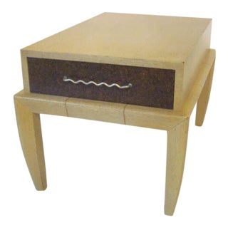 John Keal Side Table / Brown Saltman For Sale