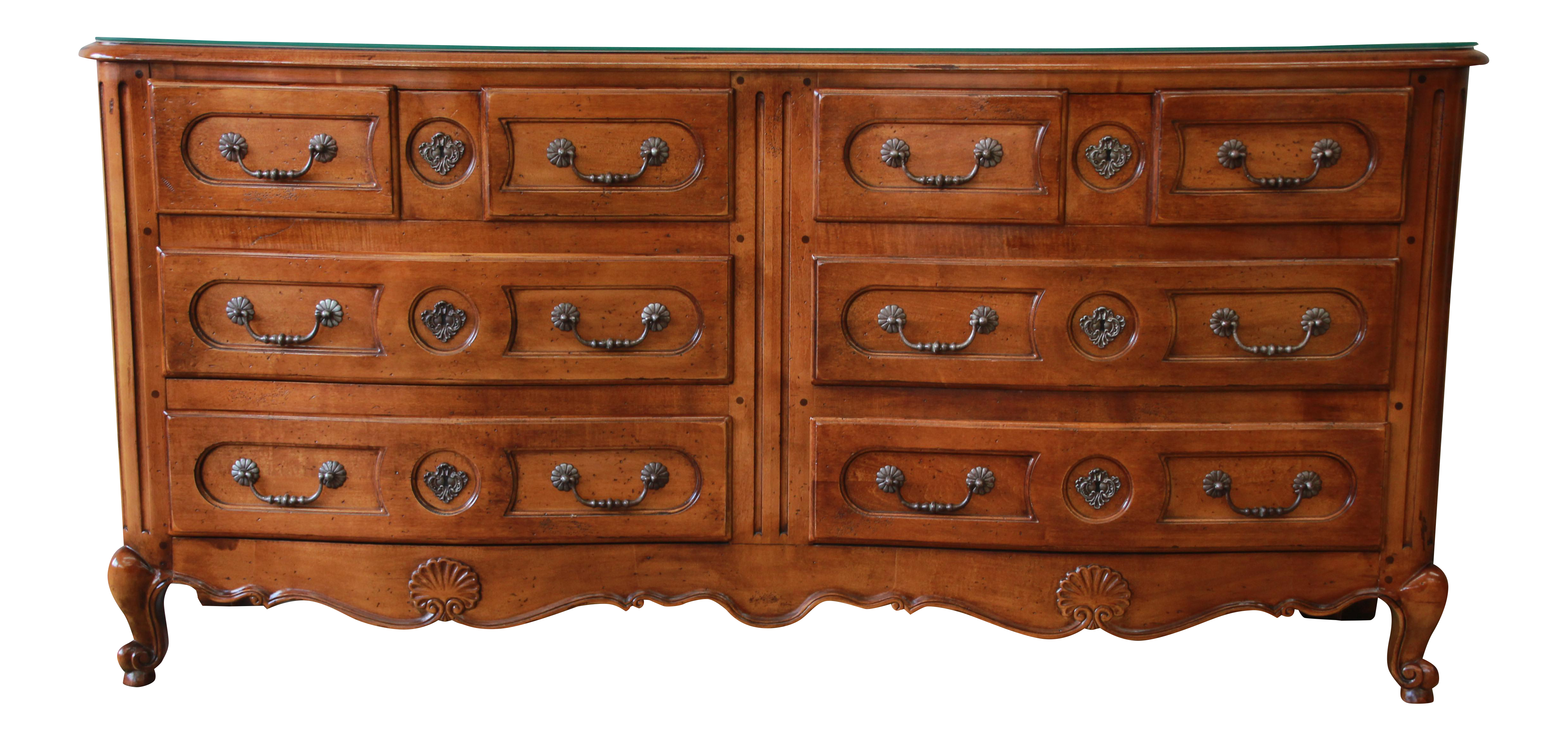 Pierre Deux French Country Double Dresser By Henredon   Image 11 Of 11