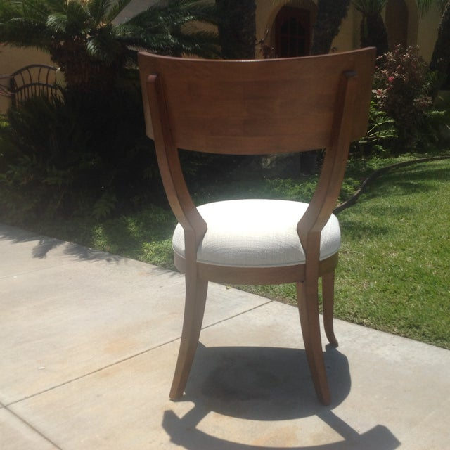 Modern Mid Century Style Klismos Dining Chair - Image 7 of 7