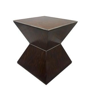 Art Deco Alden Parkes Ebony Pyramid End Tables - a Pair Preview