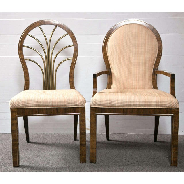 Mastercraft Art Deco Dining Chairs - Set of 6 For Sale - Image 10 of 10
