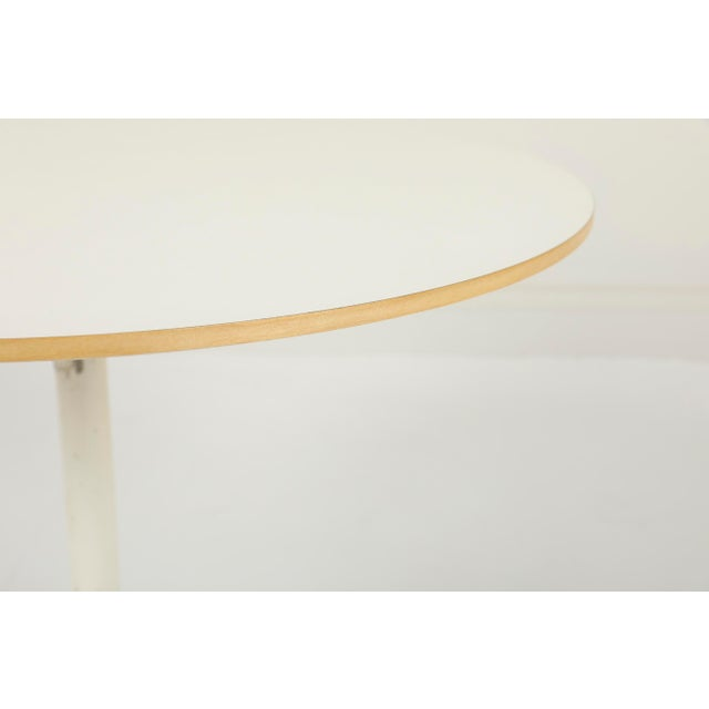 2000 - 2009 George Nelson Herman Miller Pedestal Side Table For Sale - Image 5 of 10
