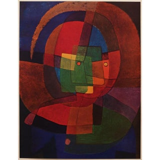 "1947 Paul Klee, ""Dynamisme d'Une Tete"" Original Parisian Large Vintage Lithograph For Sale"