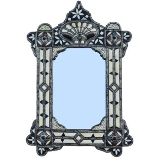 Mother-Of-Pearl Moorish Mirror For Sale