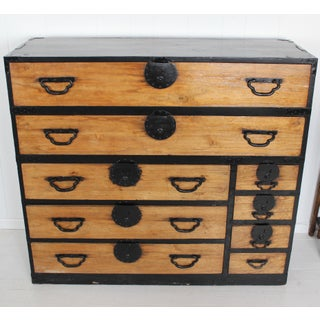 Oversize 19th Century Japanese Tansu Chest Preview