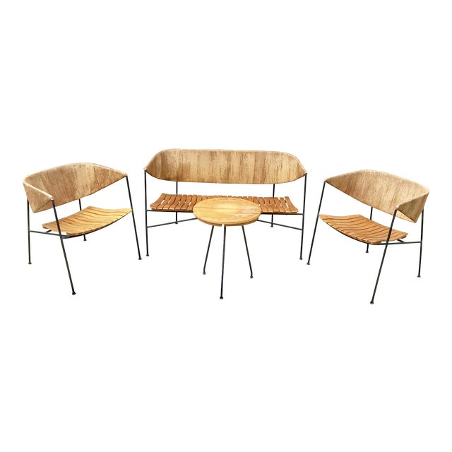 Mid-Century Modern Arthur Umanoff for Shaver, Howard & Raymor Seating Set- 4 Pieces For Sale